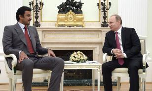 Президент России и эмир Катара провели телефонный разговор