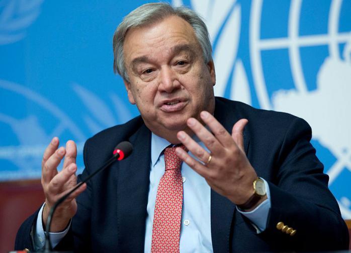 Генсек ООН призвал мир к заключению нового глобального соглашения
