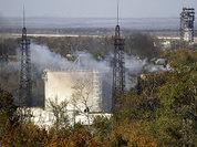 В районе аэропорта Донецка вновь начался обстрел