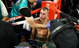 Боксер Дадашев продолжал бой несмотря на инсульт