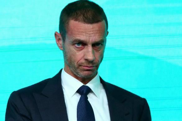 Президент УЕФА огласил план завершения Лиги чемпионов