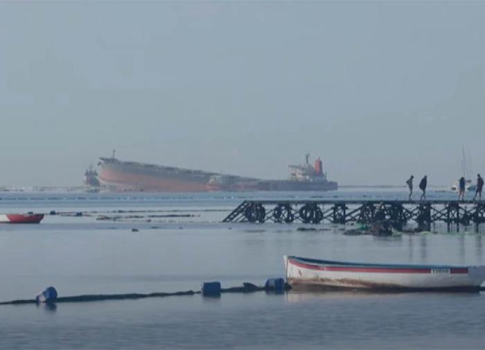 В проливе Босфор столкнулись российский и турецкий сухогрузы