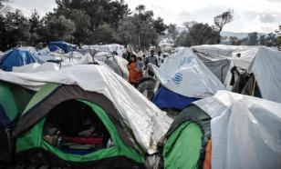Смерть женщины вызвала панику и пожар в греческом лагере беженцев
