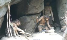 Пещерные обитатели творили не только при свете факелов