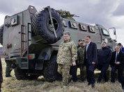 Борьба с безработицей по Порошенко: нужны танки и БТР