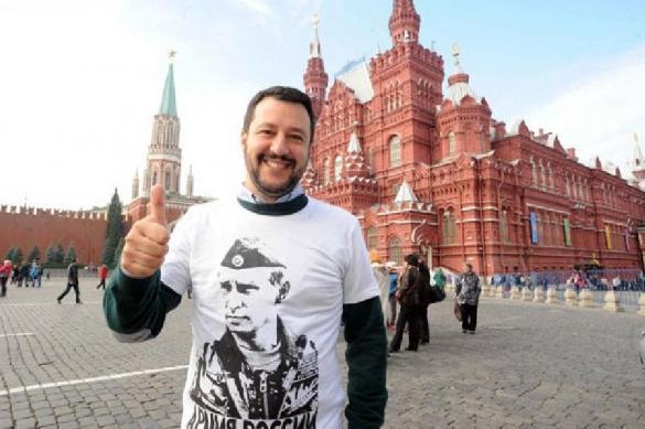 """Вице-премьер Италии назвал Путина """"великим президентом"""""""