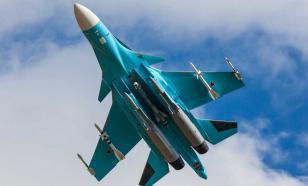 Бомбардировщик Су-34 разбился в Хабаровском крае