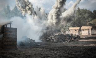 Украинская армия обстреляла посёлки возле Ясиноватой и Горловки