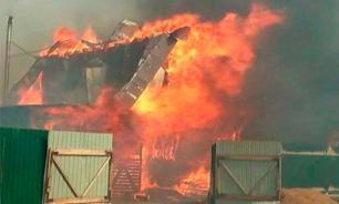 В Хакасии начальника пожарной части обвиняют в поджоге домов