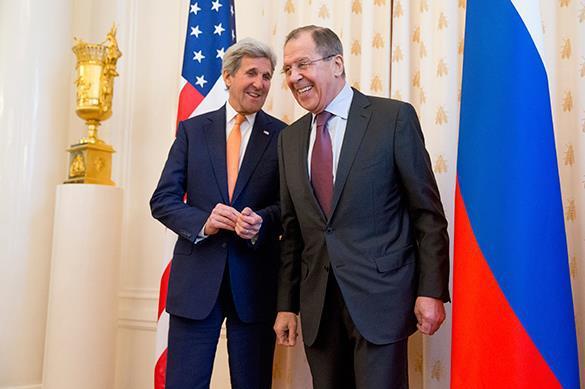 Лавров и Керри подкололи друг друга перед переговорами