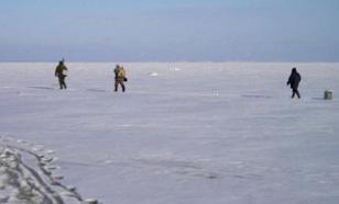 Сахалинские рыбаки успешно сняты с льдины