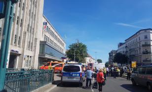 На торговый центр в Берлине напали неизвестные