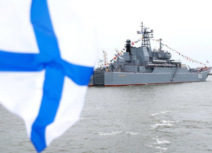В военном флоте появился женский экипаж