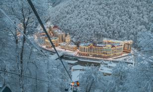 В зимнем сезоне зону катания на лыжах в горах Сочи расширят на 2,6 км