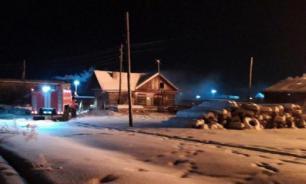 При пожаре в общежитии под Иркутском погибли два человека