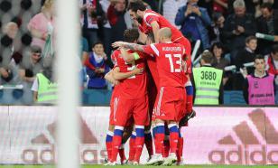 Сборная России поднимется на шесть строчек в рейтинге ФИФА