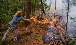 В Сибири охвачены пожаром более 30 тысяч га леса