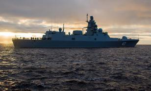 В США посмеялись над постом о российском фрегате