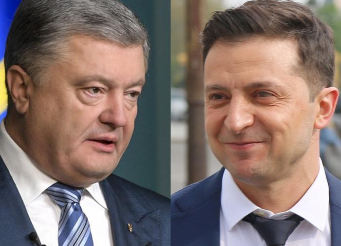 """Зеленский назвал себя """"приговором Порошенко"""""""