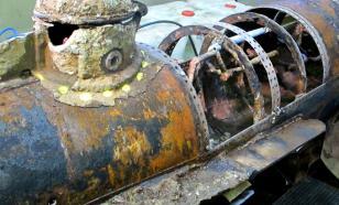Гибель подлодки U-166
