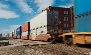 В Петербурге столкнулись два товарных поезда