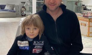 Плющенко отчитал сына на тренировке
