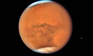 На Марсе обнаружены огромные запасы водяного льда