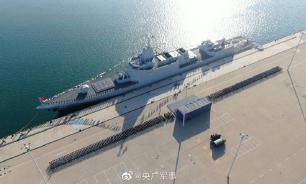 Китайский флот принял на вооружение самый мощный эсминец в мире