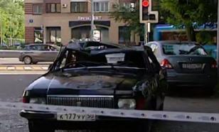 """Две москвички пытались оторваться от полицейских на угнанной """"Волге"""""""