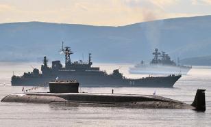 """В Японском море прошли учебные артиллерийские стрельбы с крейсера '""""Варяг""""'"""