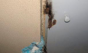Бомж чуть не спалил многоэтажный дом в Минске