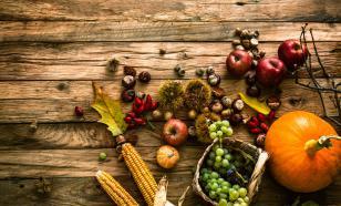Как питаться , чтобы не поправиться осенью