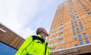 В норвежском городе Брумунддал построили самый высокий небоскреб из дерева