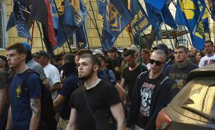 В день памяти жертв 2 мая по Одессе промаршировали нацисты
