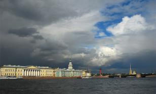 В Санкт-Петербурге ожидаются небольшие дожди