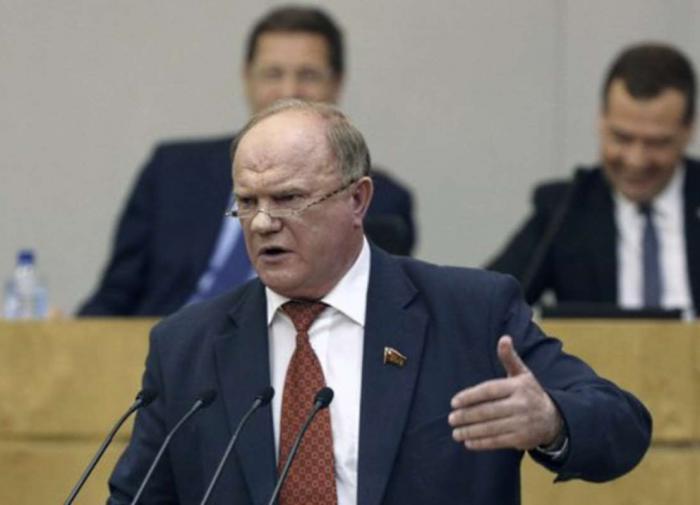 """Зюганов: """"КПРФ не поддержит проект федерального бюджета"""""""