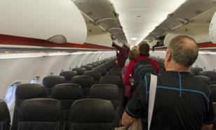 В Краснодаре из-за снегопада сел самолёт, летевший в Симферополь