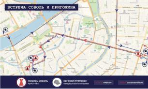 Конфликт был: свидетели рассказали о встрече Соболь с Пригожиным