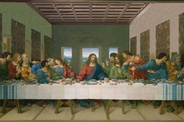 """""""Тайная вечеря"""" Леонардо ожила в канун Пасхи"""