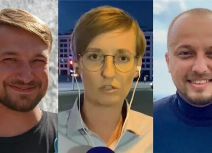 """Журналистов телеканала """"Настоящее время"""" депортировали из Белоруссии"""