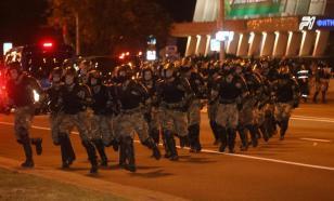 Милиция начала задерживать протестующих в центре Минска