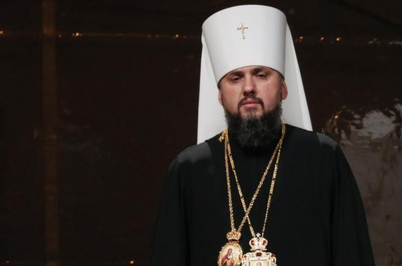 Главу ПЦУ Епифания возвели на престол