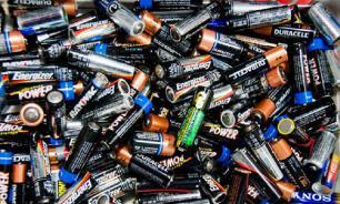 Россиянам запретят выбрасывать батарейки