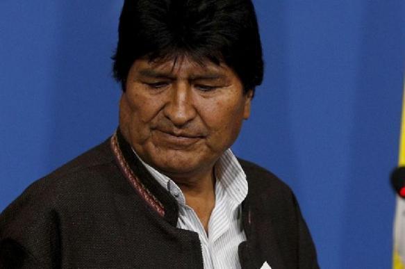 Моралес призывает Боливию формировать группы народного ополчения