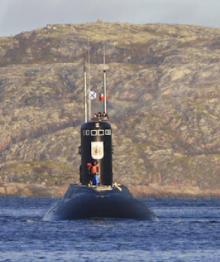 Названа зарплата командира подлодки ВМФ России