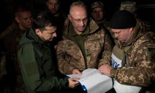 На Украине рассказали о тайном визите Зеленского в Донбасс ночью