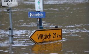 В Германии из-за наводнения без вести пропали 60 человек. А дождь всё идёт