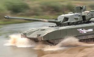 """Мощь """"Арматы"""" значительно превосходит показатели остальных танков"""