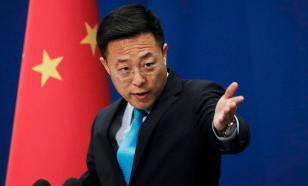 В КНР заявили о неприемлемости вмешательства США в российские выборы