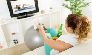 Упражнения перед телевизором - 20 января 2004 г.